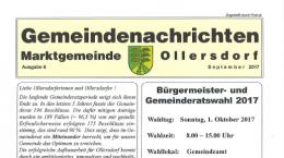 Gemeindenachrichten 06/2017