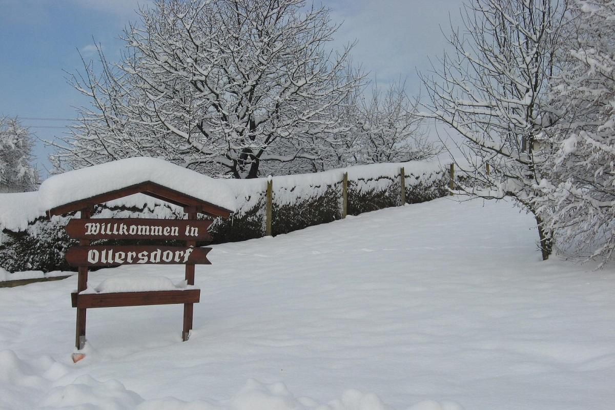 Willkommen im Ollersdorfer Winter