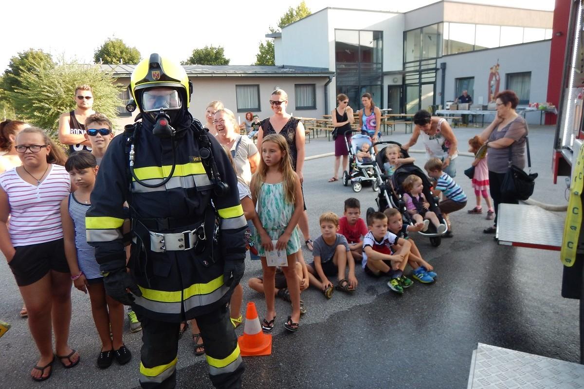 Abschlusstreffen bei der Freiwilligen Feuerwehr Ollersdorf