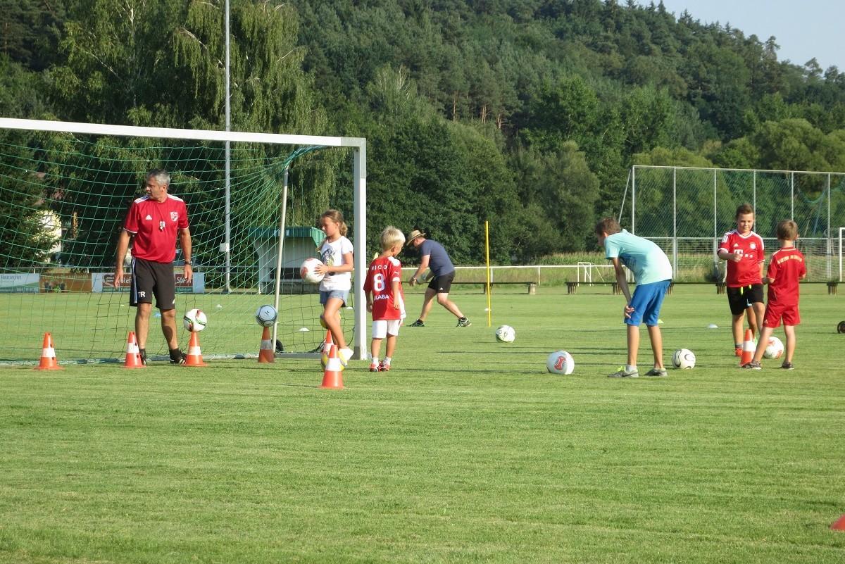 Trainieren wie die Großen beim Sportverein Ollersdorf