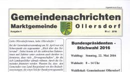Gemeindenachrichten 04/2016