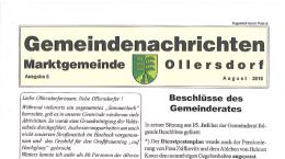 Gemeindenachrichten 06/2016