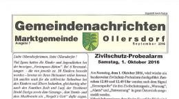 Gemeindenachrichten 07/2016