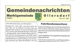 Gemeindenachrichten 01/2017