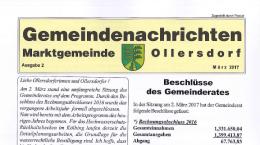 Gemeindenachrichten 02/2017