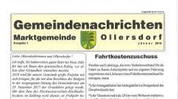 Gemeindenachrichten 01/2018