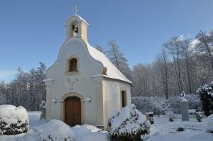 Kapelle am Pfarrplatz in Ollersdorf im Burgenland
