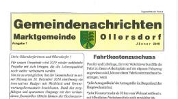 Vorschaubild Gemeindenachrichten Ollersdorf