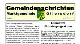 Vorschaubild Rundschreiben 3 Ollersdorf im Burgenland